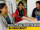 "Video : Students On Union Minister's ""Muslim Lady"" Remark, Siddaramaiah Video"