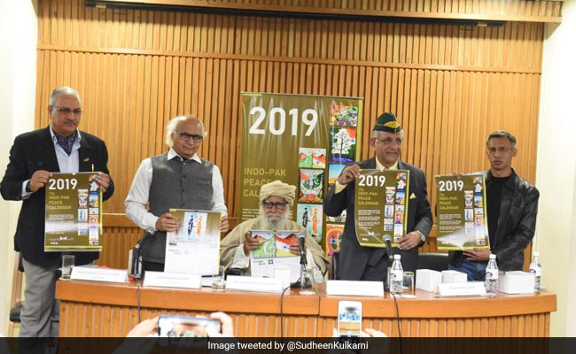 India-Pakistan 'Peace Calendar' Released To Strengthen Bilateral Ties