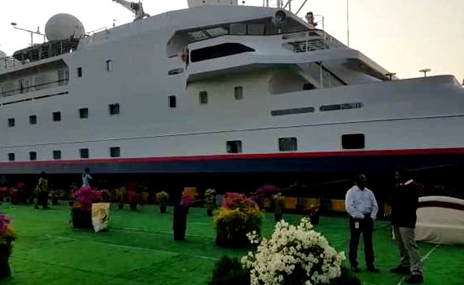 In A First, 7-Star Cruise Ship Docks At Vizag; Araku Coffee For Tourists