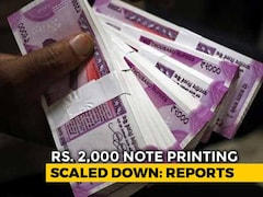 Video: Rs. 2,000 Note Printing Scaled Down To Minimum By RBI: Report