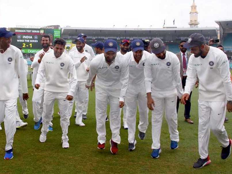India vs Australia: Team India's Victory Dance At SCG, Choreographed By Rishabh Pant - Watch