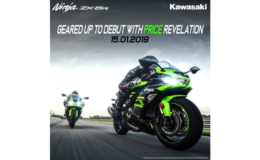 Kawasaki Ninja Zx 6r To Be Launched In India Ndtv Carandbike