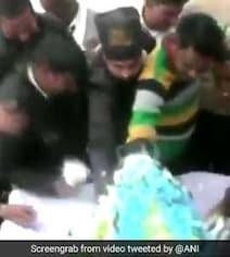 Twitter Pans Cake Loot On Mayawati's Birthday, Smriti Irani Rubs It In