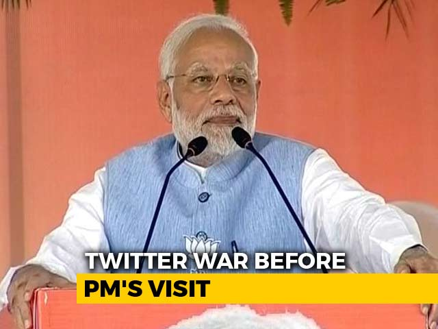 Video : As PM Modi Visits Tamil Nadu, Hashtag War On Twitter