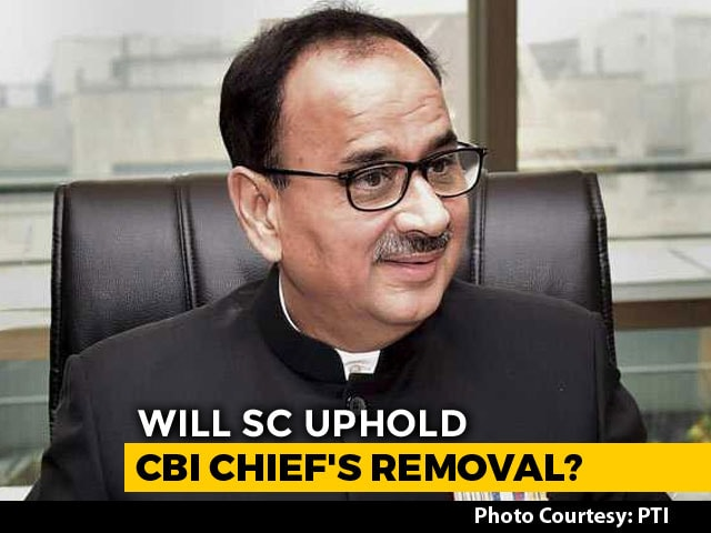 Video : On Exiled CBI Chief Alok Verma's Case, Supreme Court Order Today