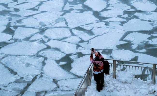 US Midwest Gets Colder Than The South Pole Due To Polar Vortex