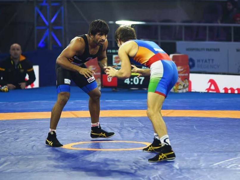 Bajrang Punia Gives Punjab Royals First Win Of Pro Wrestling League 2019