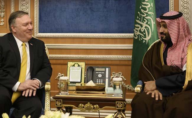 US' Mike Pompeo Meets Saudi Crown Prince As Khashoggi Murder Probe Looms