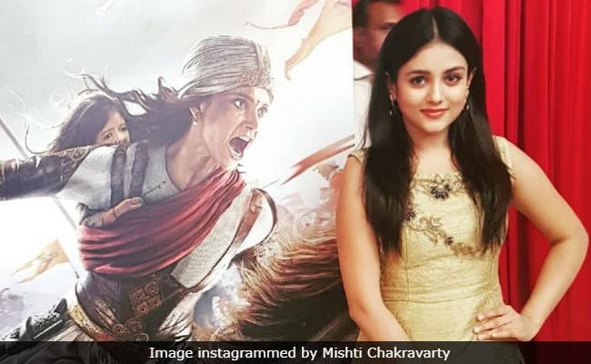 Kangana Ranaut Has A Good Sense Of Humour, Says Her Manikarnika Co-Star Mishti Chakravarty