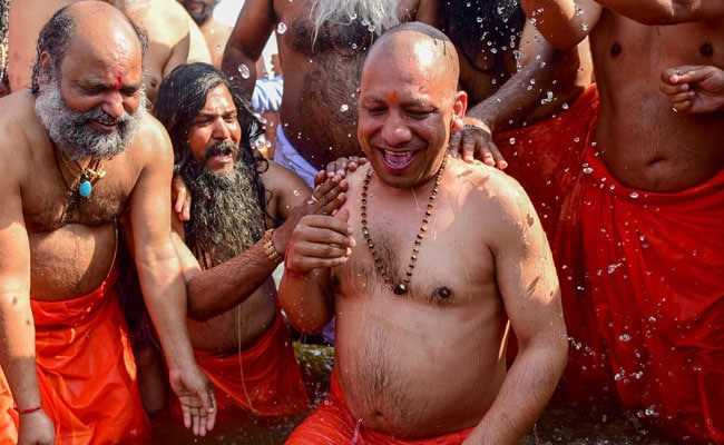 Look Who All Took The Holy Dip At Kumbh Mela
