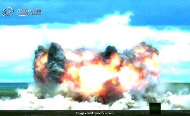 After US, China Develops Its Own 'Mother Of All Bombs', Says Report