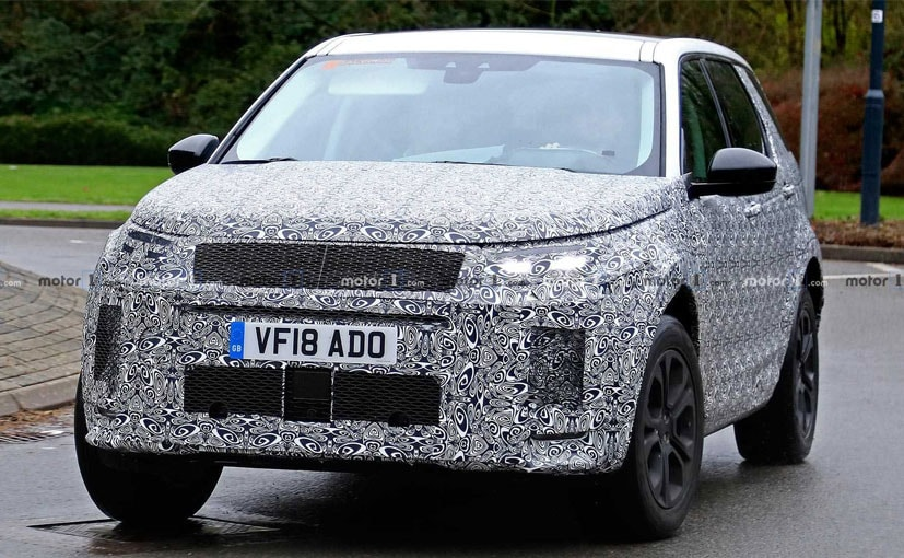 Majority of the changes will be made to the face of the New Land Rover Discovery Sport.