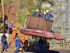 Navy Stops Operation To Pull Out Decomposed Body From Meghalaya Mine