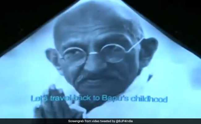 Watch Pm Inaugurates 3d Show On Mahatma Gandhis Life Journey In