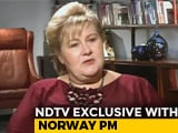 "Video : ""Don't Think There Is A Military Solution To Kashmir"": Norway PM To NDTV"