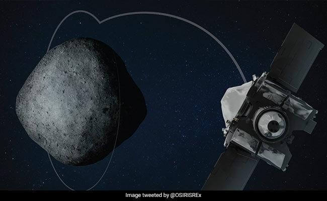 NASA Says Osiris-Rex Probe Touched Down On Asteroid Bennu