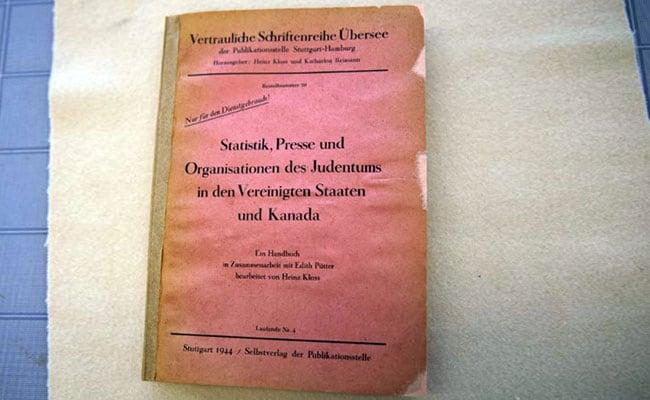 Canada Acquires Adolf Hitler's 1944 Personal Collection Book