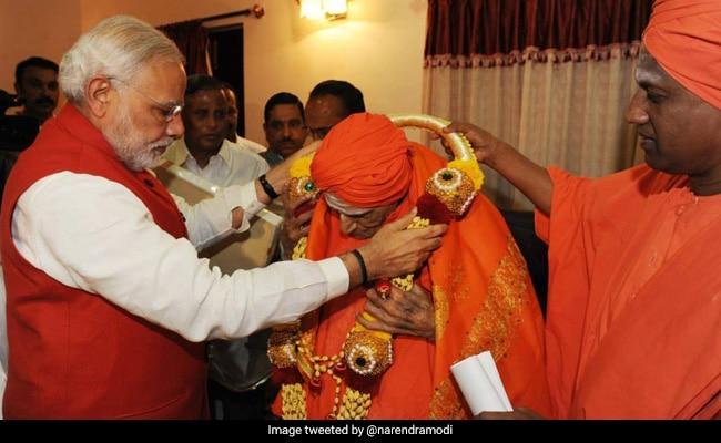 'Represented Best Of Our Traditions': PM Modi Condoles Shivakumara Swami