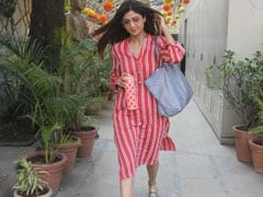 Shilpa Shetty Is Out To Make Us Fall In Love With Stripes. 5 Pretty Options