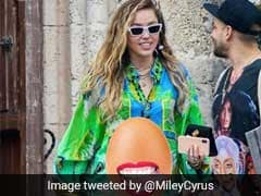 """Not Egg-xpecting"": Miley Cyrus Refutes Pregnancy Rumours With Viral Egg Pic"