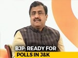 "Video : ""We Are Ready,"" Says BJP. ""So Are We,"" Adds Mehbooba Mufti On State Polls"