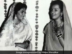 Guess Which Film This Throwback Pic Of Shilpa Shirodkar And Madhuri Dixit Is From?