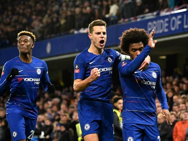 FA Cup: Willian Brace Helps Holders Chelsea Beat Sheffield Wednesday On Gonzalo Higuain Debut