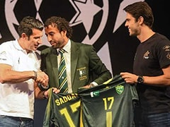 "Luis Figo, Kaka Seek ""Promise"" Of Football In Cricket-Mad Pakistan"