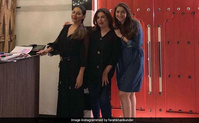 Inside Gauri Khan, Farah Khan And Bhavana Panday's 'Girls Night Out'