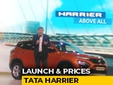 Video : Tata Harrier Launch And Prices