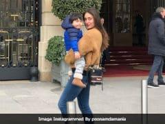 Kareena Kapoor And Taimur Send Love From Paris. See Pic