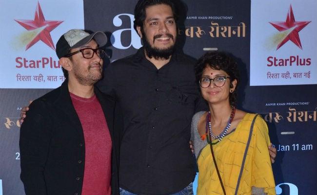Aamir Khan And Kiran Rao Screen Rubaru Roshni For Junaid, Ira And Friends