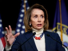 """Nancy Pelosi Hurting Our Country"": Trump Amid Border Wall Deadlock"