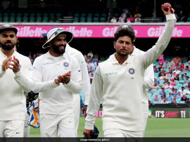 India vs Australia: Kuldeep Yadav Claims His Second Five-Wicket Haul In Tests, First Outside India