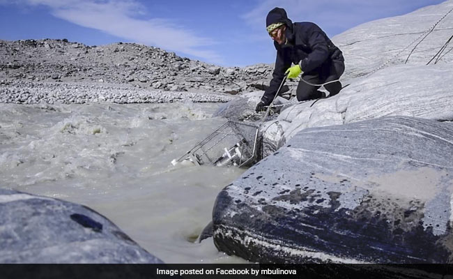 Greenland's Melting Ice-Sheet Bed Releases Tonnes Of Methane, Says Study