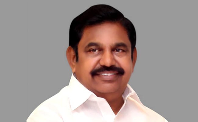 K Palaniswami Unveils MGR Centenary Arch In Chennai