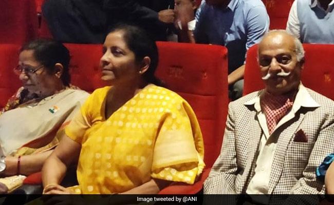 '#HighJosh': Nirmala Sitharaman After Watching Uri With Veterans