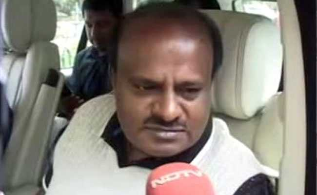 BJP Creating Nuisance, HD Kumaraswamy Says Amid Row Over Lawmakers