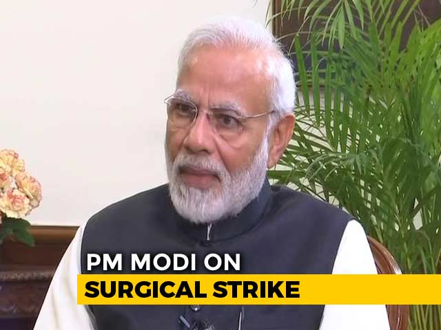 "Video : ""Knew Surgical Strikes Was Big Risk, Soldiers' Safety My Top Concern"": PM"