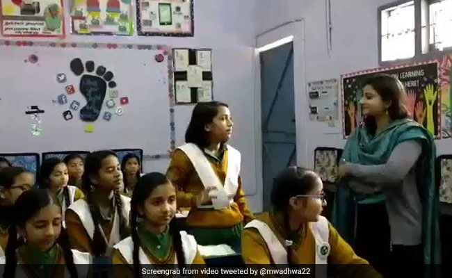 Manish Sisodia's Post On 'Happiness Class'. Unique Response From Kids