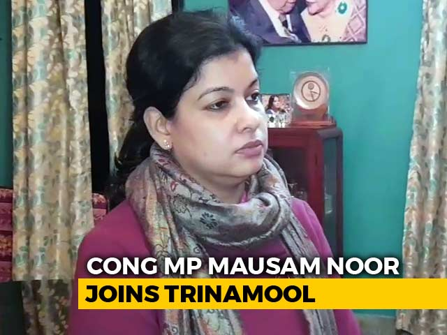 Video : In Setback To Congress, Bengal Lawmaker Joins Trinamool