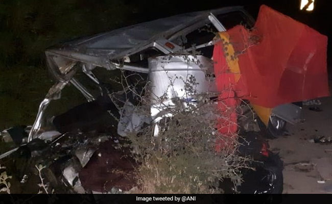 12 Killed After Head-On Collision Between Two Cars In Ujjain
