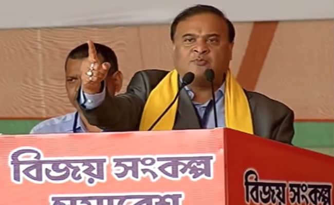 Himanta Biswa Sarma May Sit Out Elections To Monitor BJP's Northeast Campaign