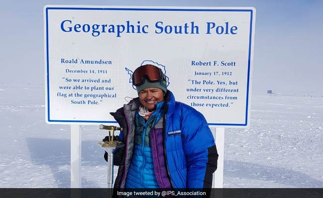 Aparna Kumar Becomes First Female IPS Officer To Reach South Pole