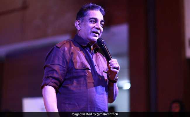 Kamal Hassan Holds Meeting With Party Functionaries On Lok Sabha Polls