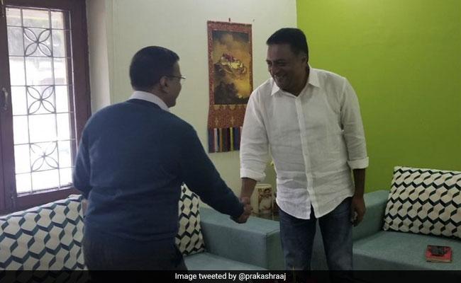 प्रकाश राज ने की दिल्ली के मुख्यमंत्री अरविंद केजरीवाल से मुलाकात, AAP नेता से मांगी ये सलाह