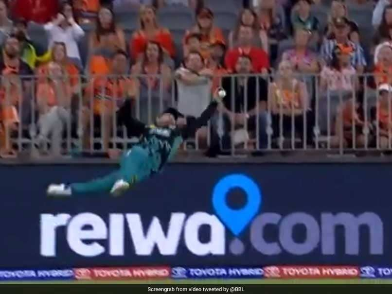 """Big Bash League: Best Dropped """"Catch Of The Century"""", Featuring Brendon McCullum - Watch"""