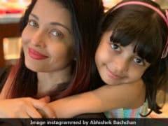 Aishwarya Rai Bachchan And Aaradhya Are The Stars Of Abhishek's Instagram Post