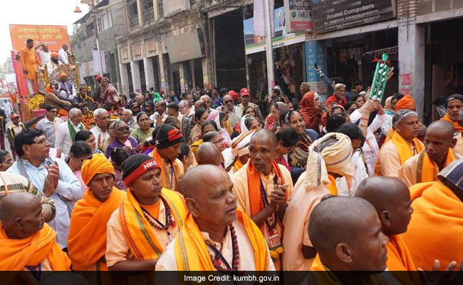 Akharas Ready To Steal The Show At Prayagraj's Kumbh Mela