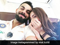 "Virat Kohli Shares Adorable Picture Of ""Moments"" With Anushka Sharma, Shikhar Dhawan Meets Daughter After Napier ODI Win"